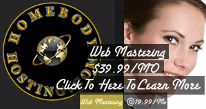 HomeBody Web Mastering